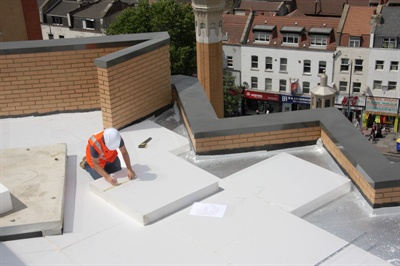 Jablite Case Studies East London Mosque Tapered Insulation