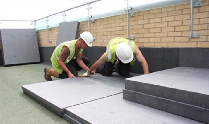 Jablite Case Studies | Achieving A Challenging U Value: HP Inverted Roof  Insulation